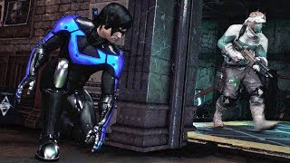 Batman Arkham Knight: Asa Noturna / Fuga da Cadeia