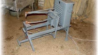 Супер аппарат контактно-точечной сварки своими руками. Machine resistance spot-welding .(От сети 220 вольт. Выходное напряжение = 4.9 вольта. Ток = 1600 ампер. On 220 volts. Output voltage = 4.9 volts. Current = 1600 amps., 2015-01-10T15:15:19.000Z)