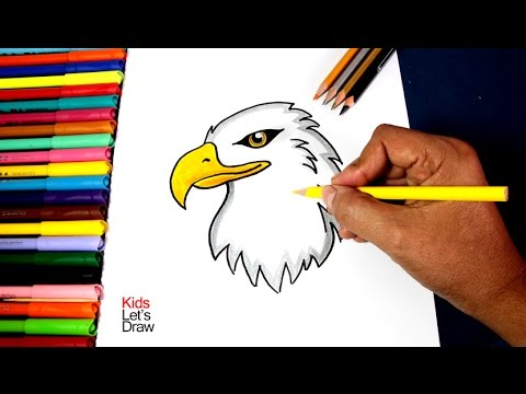 Cómo dibujar un Águila (paso a paso) | How to draw an Eagle - YouTube