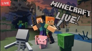 Minecraft survival work on guardian farm for a little pt 25 come chill chat an enjoy peeps :)