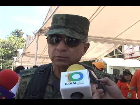 Militares conviven con niños y niñas del CRIT Chiapas