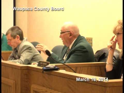 Waupaca County Board 3.18.14