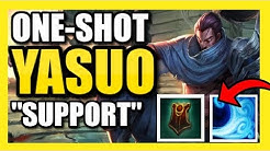 105% WINRATE YASUO SUPPORT BUILD |  THIS IS ACTUALLY OP! | Yasuo Support Season 9