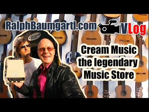Cream Music the legendary Guitar, Drum and Keyboard Store in Frankfurt Germany
