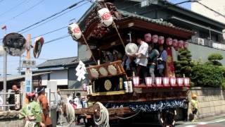 2017年5月21日(日)におこなわれた、本石区(熊谷うちわ祭)屋台作成8...