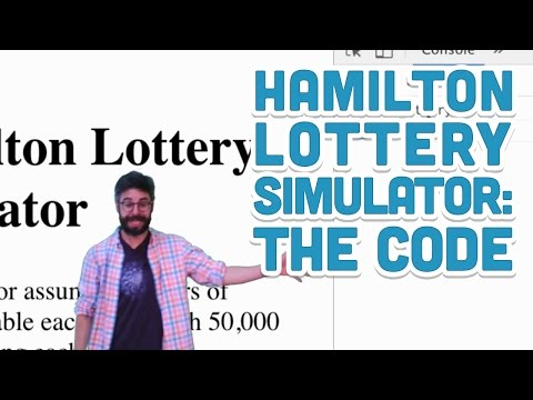 14.2: The Code (HTML, CSS, and JavaScript) - Hamilton Lottery Simulator with p5.js