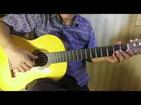 (Tutorial Fingerstyle) Indonesia Pusaka - Lagu Wajib Nasional