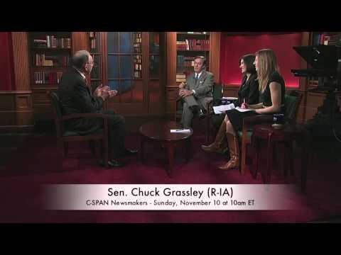 Sen. Chuck Grassley (R-IA) on Twitter (C-SPAN)