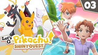 IF AT FIRST YOU DON'T SUCCEED!! Pokémon Let's Go Pikachu Shiny Quest Let's Play! Episode 3