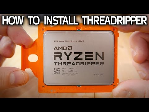 Threadripper CPU Installation Guide! How Socket TR4 Works