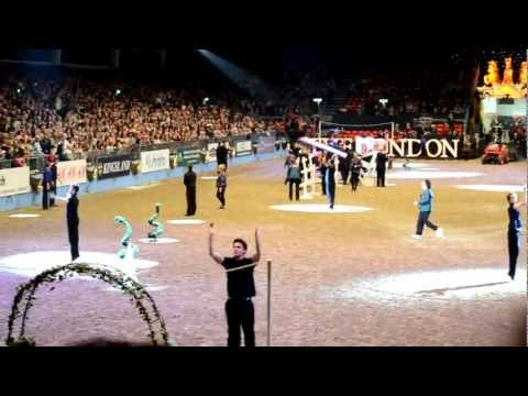 Gangnam Style @ Olympia London International Horse Show