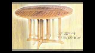 Delliando Furniture Catalogue: Outdoor Tables