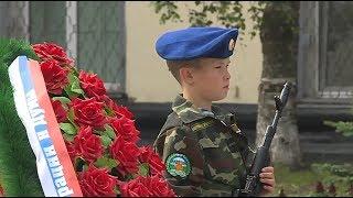 В память о героях. Горожане собрались на площади Победы.