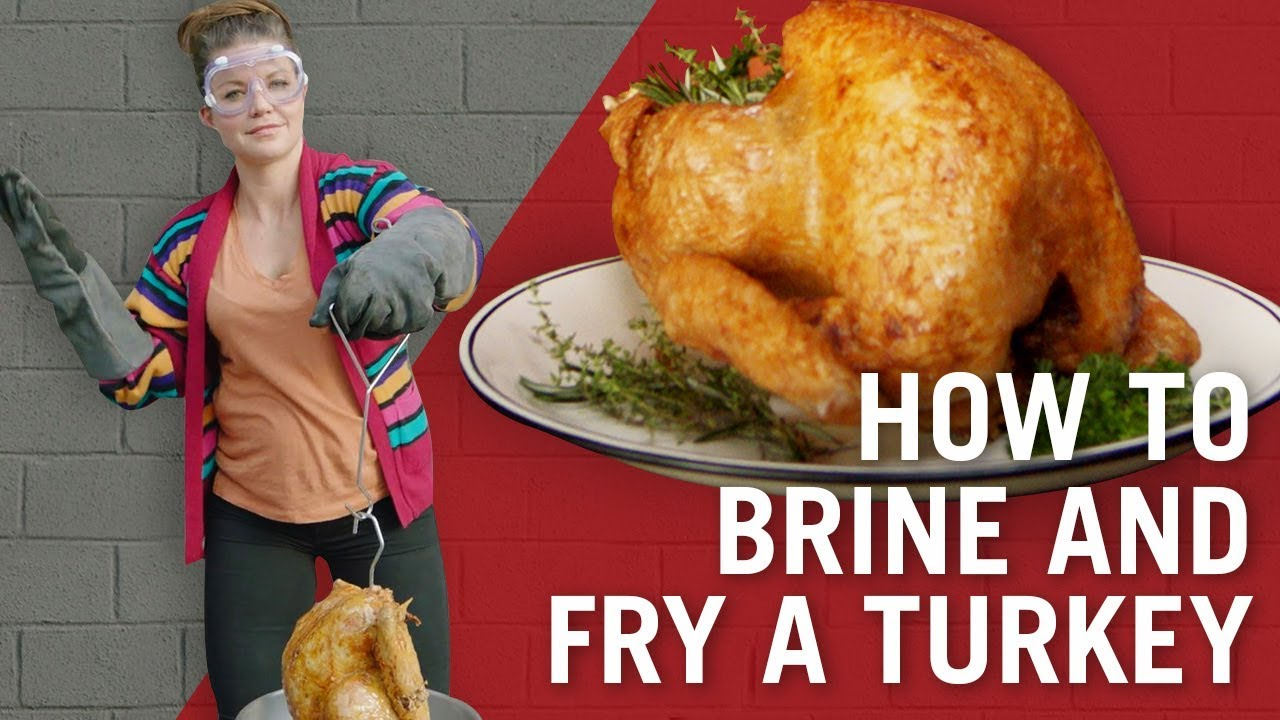 How to Brine & Fry Turkey | Thanksgiving Recipes | Flavor Makers Series | McCormick