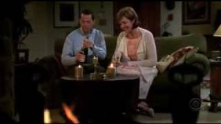 Two and A half men -season 4, Alan starts online dating ,very funny Chuck Lorre Note.