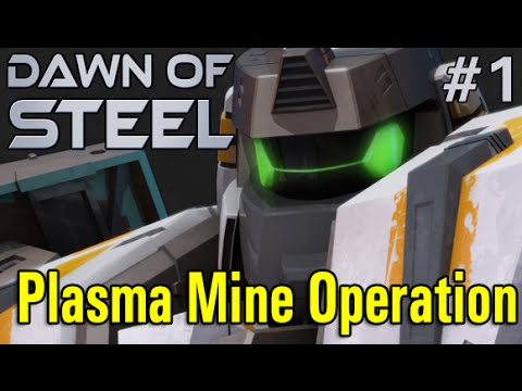 Dawn of Steel #1 - Plasma Mine Operation (iOS Gameplay)
