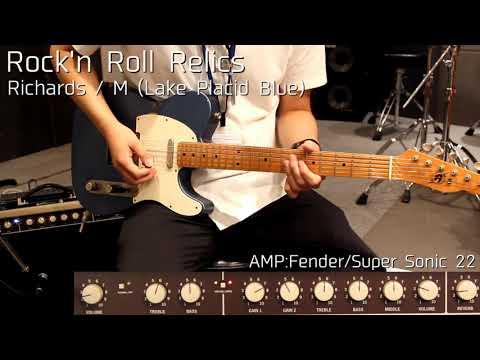 Download 【試奏動画】Rock'n Roll Relics/Richards/ M (Lake Placid Blue)