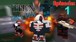 [So many Kills!] HEX - ROBLOX: Let's Play #1 w/ Friends Commentary HD PC