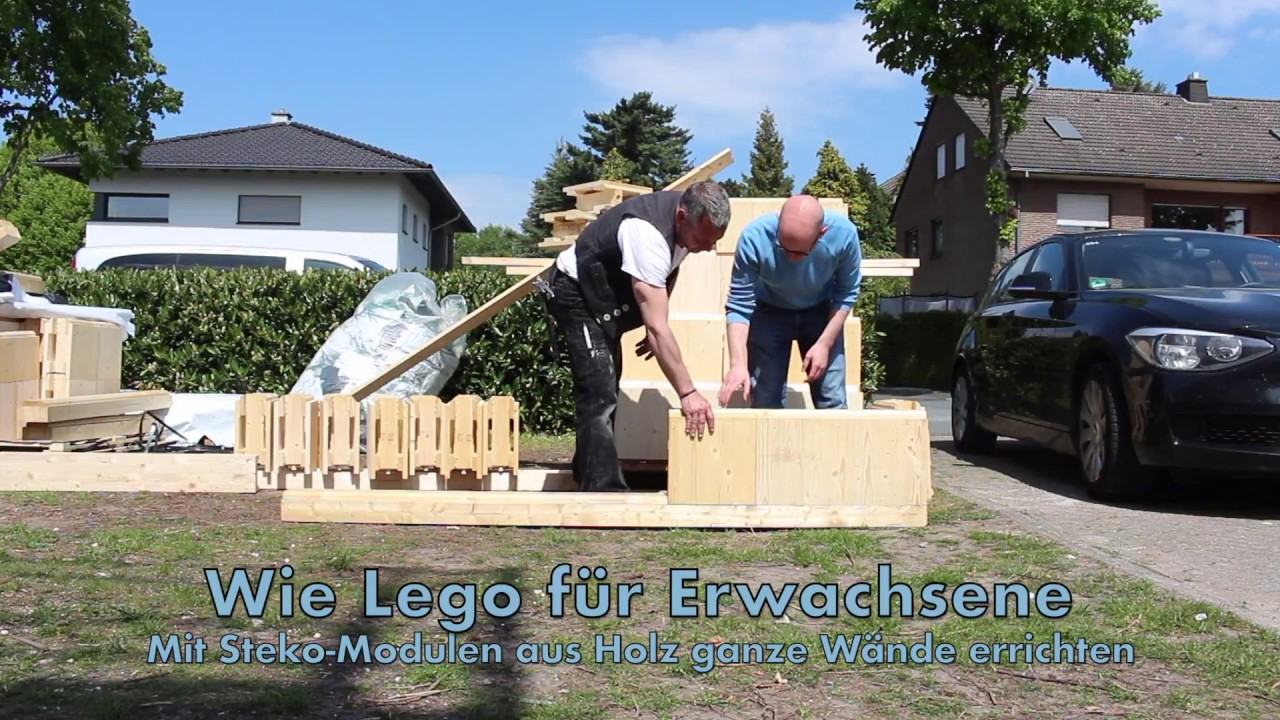 steko module lego bauen f r erwachsene youtube. Black Bedroom Furniture Sets. Home Design Ideas