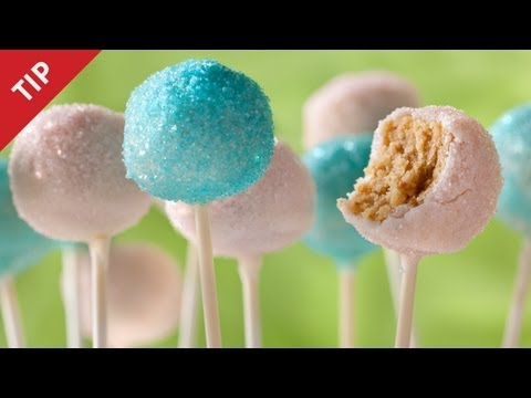 How to Make Easy Cake Pops - CHOW Tip