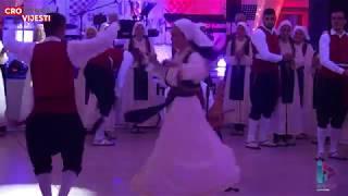 Božićna zabava Cro Vienne, nastup gostiju, KUD Stolac, BiH