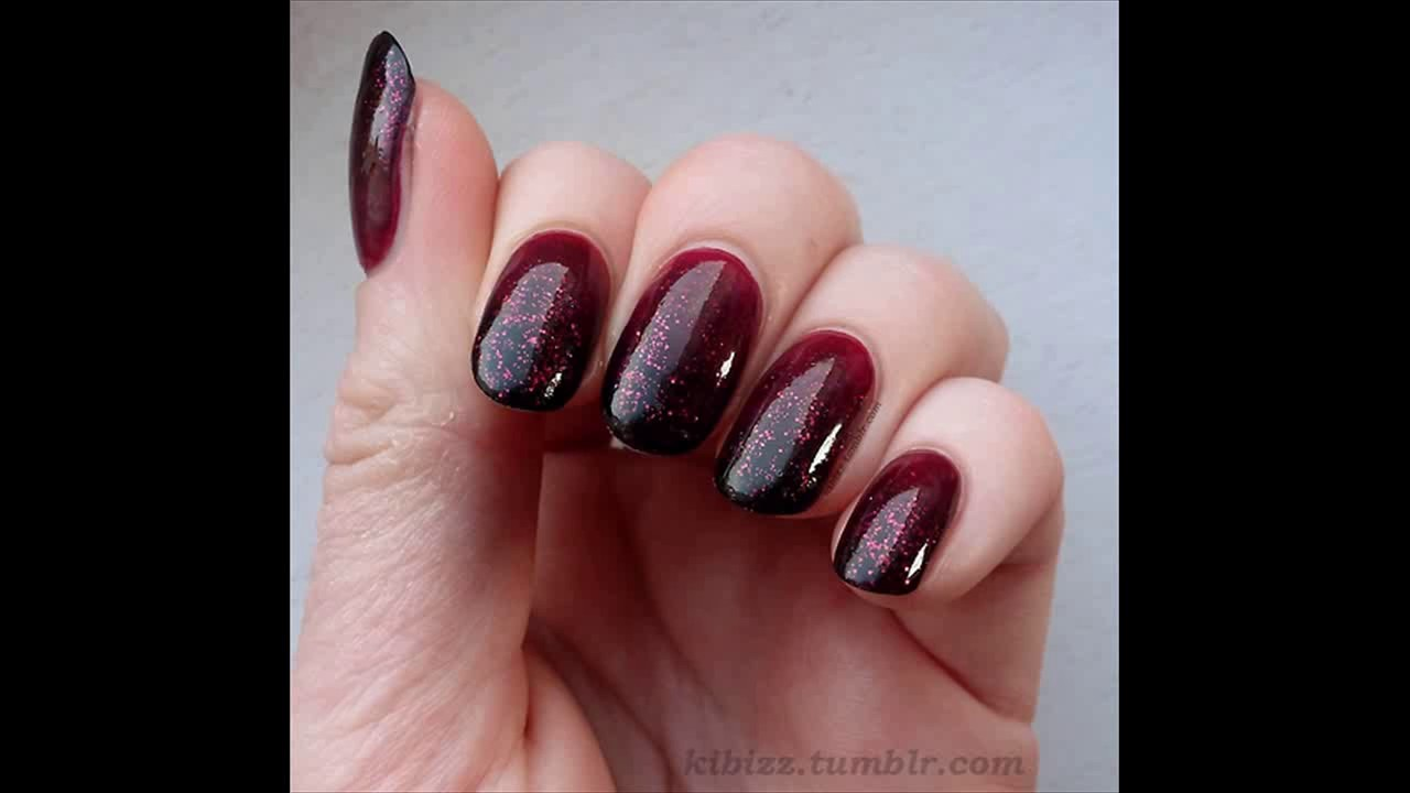 20 Burgundy Nail Designs Youtube