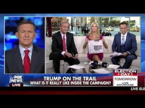 GENERAL MICHAEL FLYNN FULL EXPLOSIVE INTERVIEW ON FOX & FRIENDS VIDEO FOX NEWS 11/ 7 /2016
