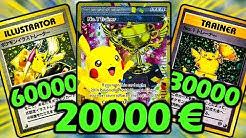 Die Top 10 der SELTENSTEN Pokémon Karten ❗️