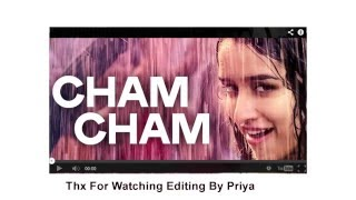 Cham Cham Full SONG LYRICS VIDEO | BAAGHI Movie