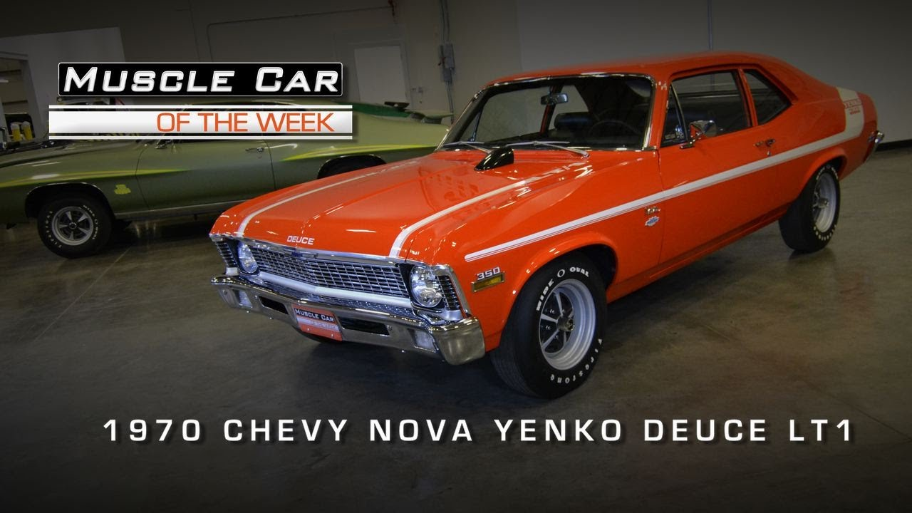 Muscle Car Of The Week Video 22 1970 Chevrolet Nova