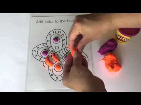 Printable Playdough Mats