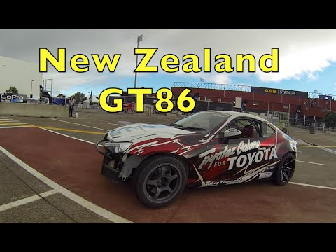 Ryan Tuerck shreds NZ's 750HP GT86