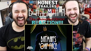 Honest Trailers - BATMAN: THE ANIMATED SERIES - REACTION!!!