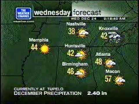 TWC Local Forecast Christmas 2003