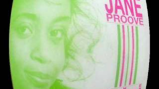 Jane Proove - The Only One, Rhythm Records 1988