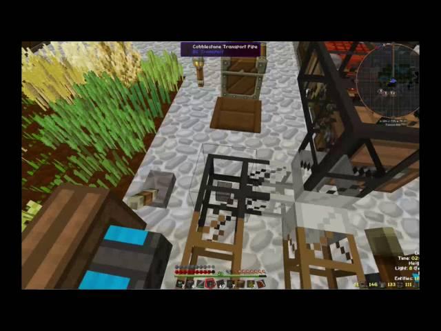 Let's Play Minecraft Space-Astronomy | Cobblestone Komprimieren | Folge #023