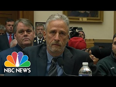 Watch Jon Stewart's Plea To Lawmakers For 9/11 Victim Funding: 'You Should Be Ashamed'   NBC News