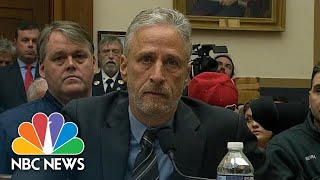 Watch Jon Stewart's Plea To Lawmakers For 9/11 Victim Funding: 'You Should Be Ashamed' | NBC News