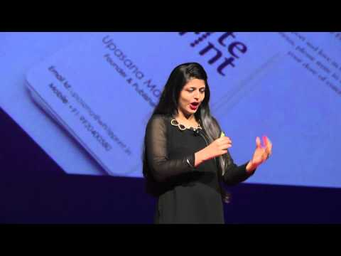 Introducing the Magic of Braille in Leisure Reading | Upasana Makati | TEDxBITSHyderabad