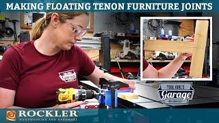 Making Furniture with Beadlock Pro Jig - Floating Tenons