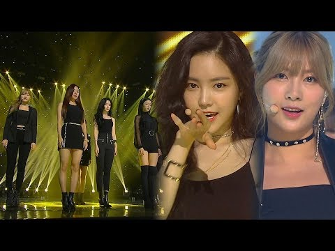 """SEXY"" A Pink - Aku Sangat Sakit (tidak Satu) @ Popular Inkigayo 20180722"