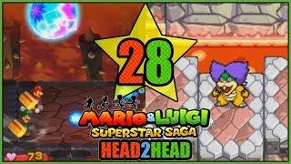 LEMMY, LUDWIG,ROY! 3DS VS GBA Mario and Luigi Superstar Saga Head 2 Head Part 28 - DarkLightBros