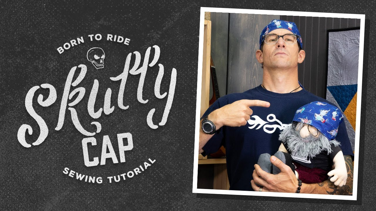 image relating to Printable Welding Cap Pattern known as Deliver a Scrub Cap or Skull Cap with Rob Appell of Guy Sewing (Educational Video clip)