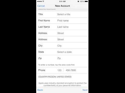 Apple Id Registration როგორ დავარეგისტრიროთ Apple Id
