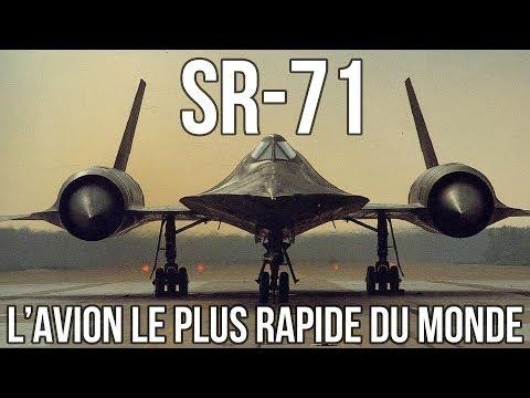 SR71 -  L'avion le plus rapide du monde