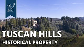 Historical villa for sale on Florence's Hills | Tuscany, Italy - Ref. 3715