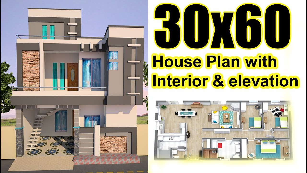 Architecture Design For 30X60 House