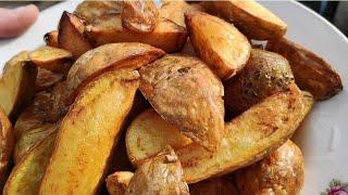 Картошка по деревенски простой рецепт