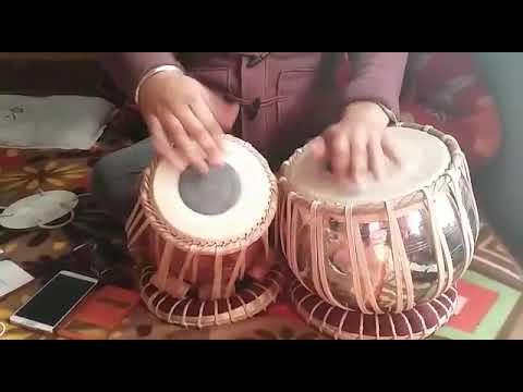 Gurjinder singh Rajan - Teen taal - disciple of Pt Shushil Kumar ji Jain - Maestro of Punjab Gharana