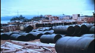 1st Infantry United States Army soldiers in Dominican Republic and Vietnam HD Stock Footage